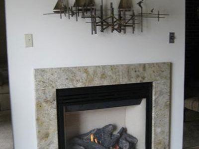 Granite Frame Fireplace